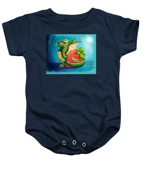 Strawberry Dragon Baby Onesie