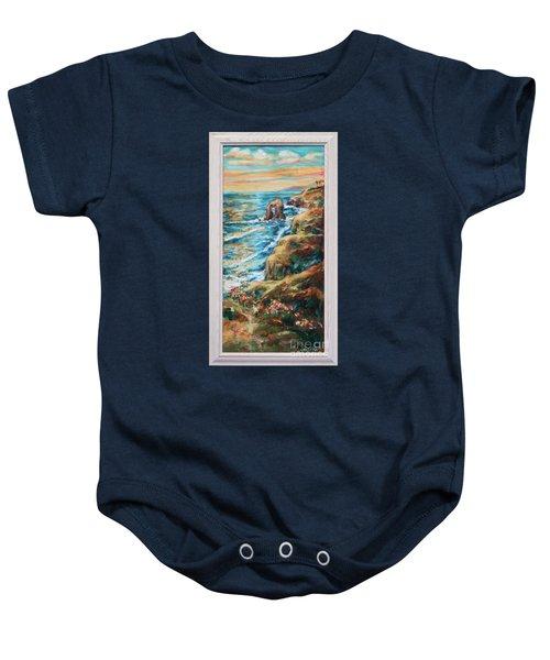 Sunset Cliffs Baby Onesie