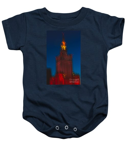 The Palace Of Culture And Science Baby Onesie