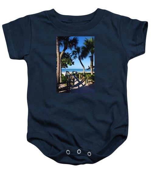 14th Ave S Beach Access Ramp - Naples Fl Baby Onesie