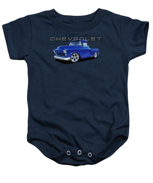 1955 Chevrolet Stepside Baby Onesie