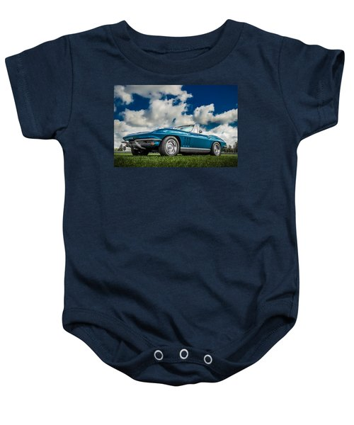 1966 Corvette Stingray  Baby Onesie