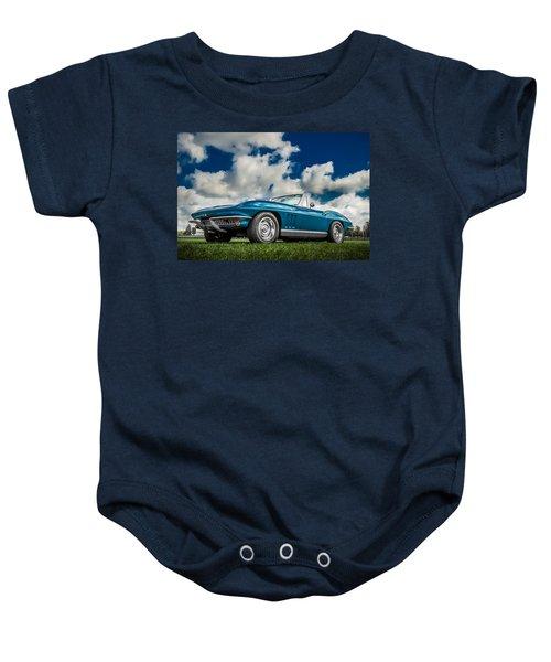 1966 Corvette Stingray  Baby Onesie
