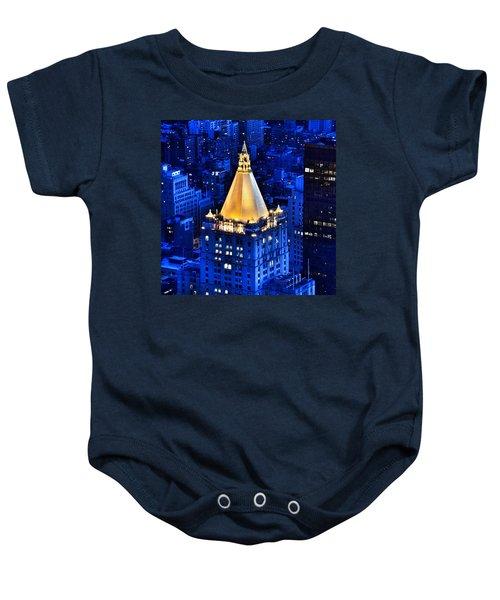 New York Life Building Baby Onesie
