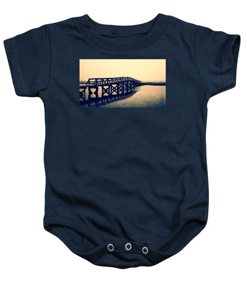 Sandwich Boardwalk Baby Onesie
