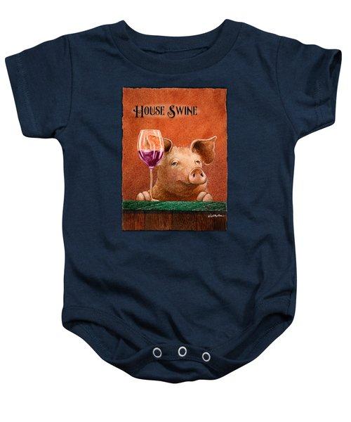 House Swine... Baby Onesie