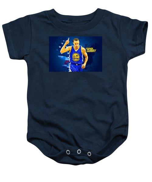 Stephen Curry Baby Onesie