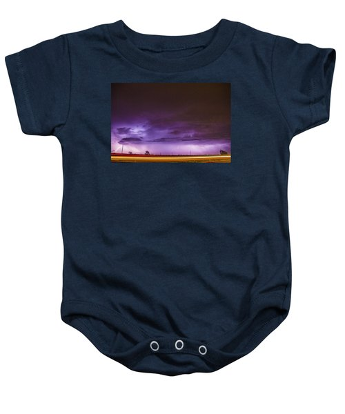 6th Storm Chase 2015 Baby Onesie