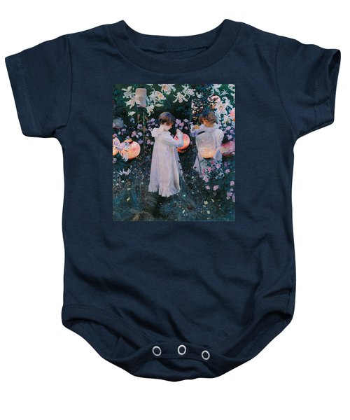 Carnation Lily Lily Rose Baby Onesie