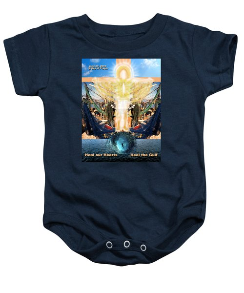 A Day Of Prayer For The Gulf Baby Onesie