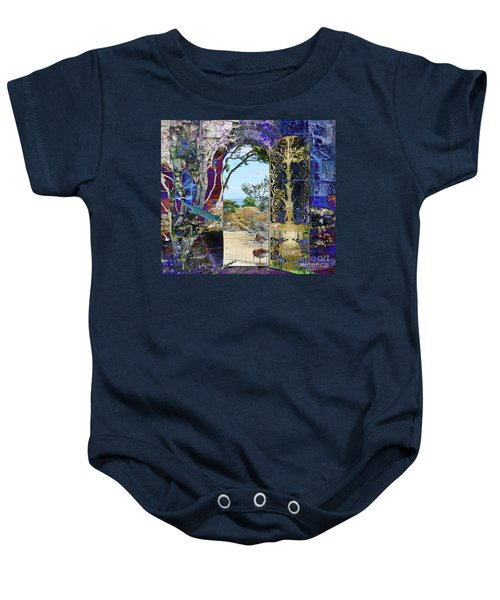 A Narrow But Magical Door Baby Onesie