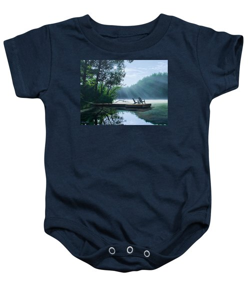 A Place To Ponder Baby Onesie