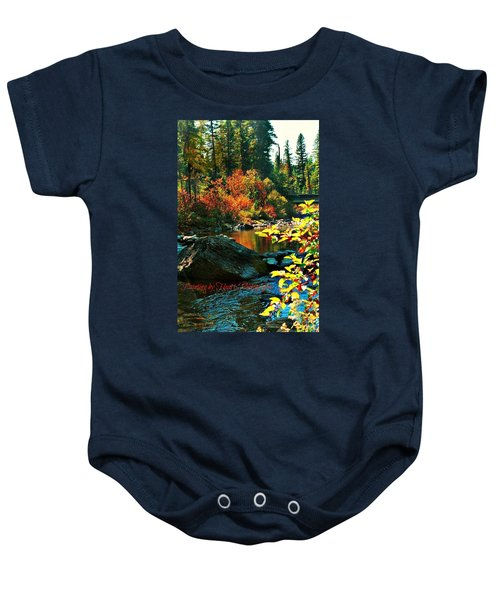 Above Tally Lake Baby Onesie