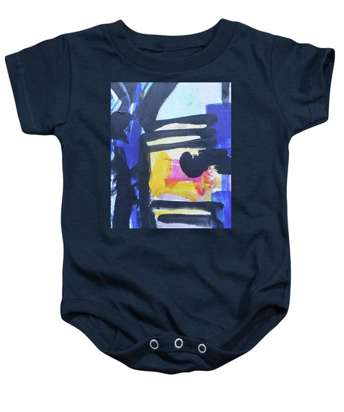 Abstract-16 Baby Onesie