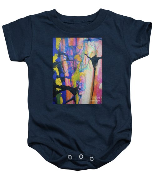 Abstract-3 Baby Onesie