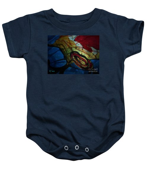 Abstract-31 Baby Onesie
