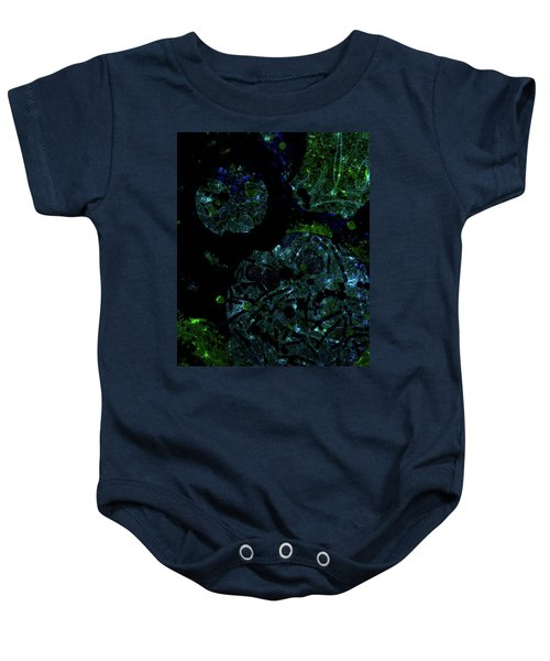 Abstract-32 Baby Onesie