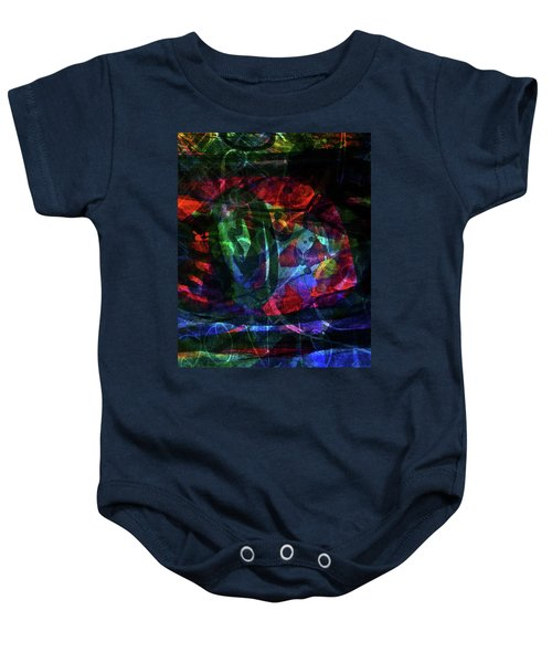 Abstract-34 Baby Onesie