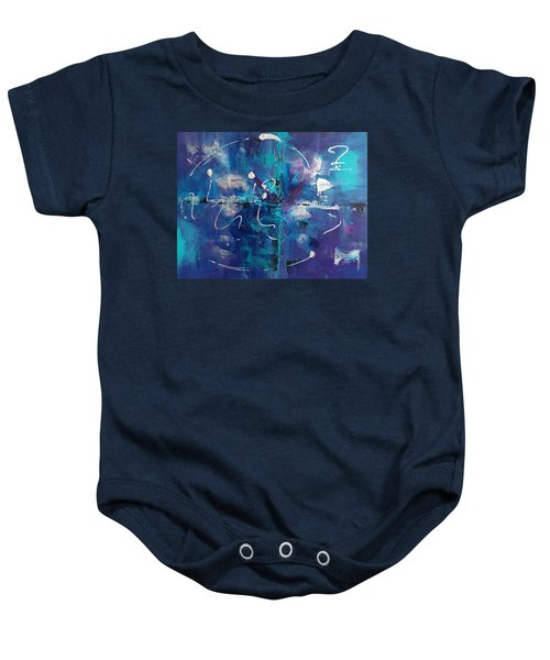 Abstract I Baby Onesie