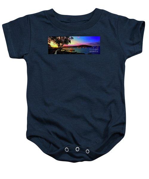 Acadia Bar Harbor Sunset Cruises.tif Baby Onesie