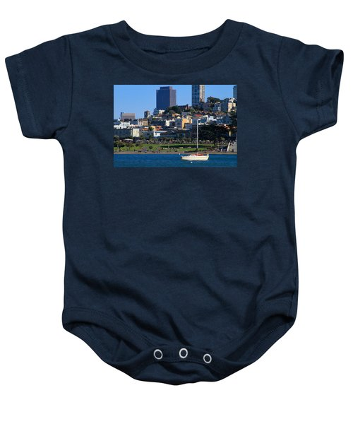Afternoon At Maritime Park Baby Onesie