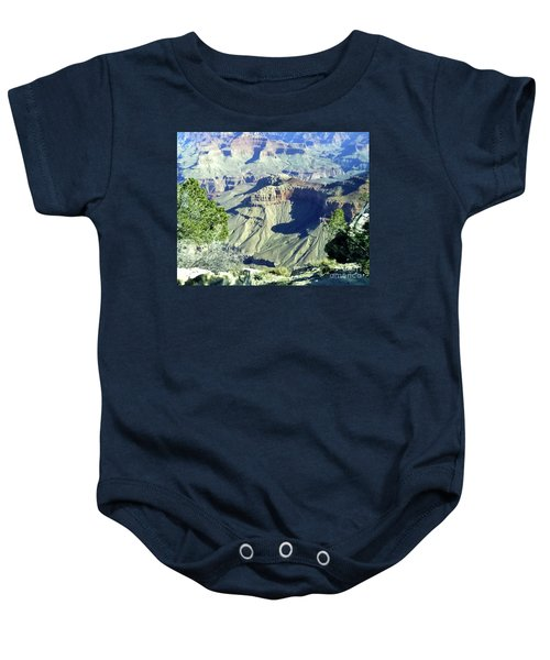 Afternoon View Grand Canyon Baby Onesie