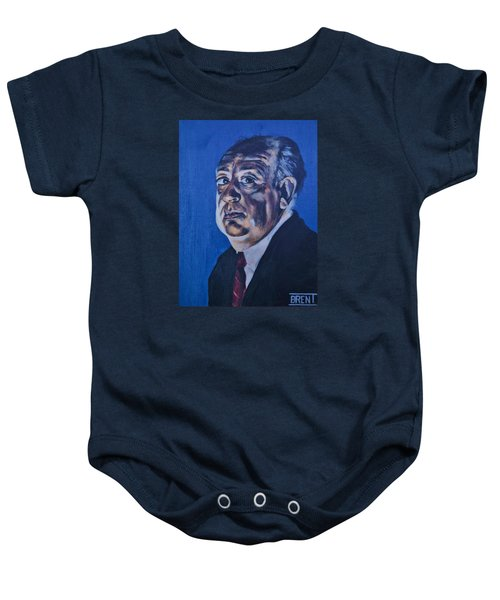 Alfred Hitchcock Baby Onesie