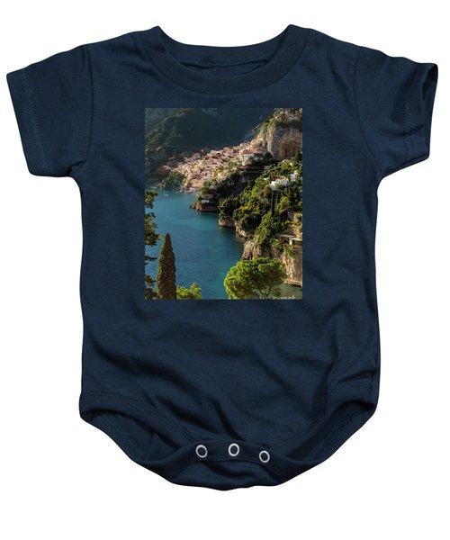 Almalfi Coast Baby Onesie