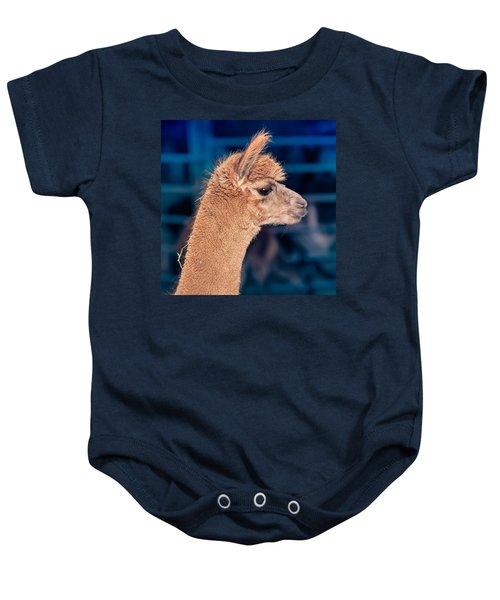 Alpaca Wants To Meet You Baby Onesie
