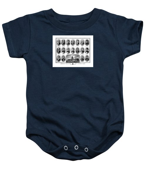 American Presidents First Hundred Years Baby Onesie