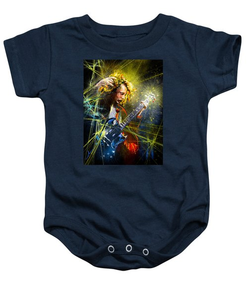 Angus Young Baby Onesie