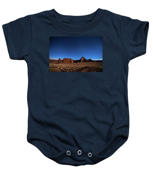Arizona Landscape At Night Baby Onesie