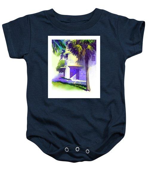 Art Deco Hotel Miami Baby Onesie