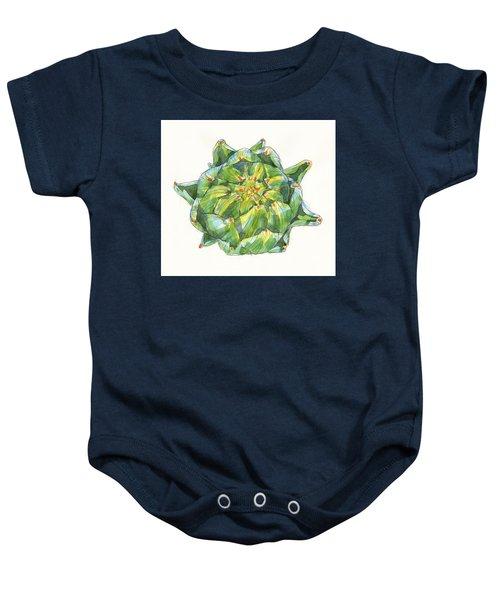 Artichoke Star Baby Onesie