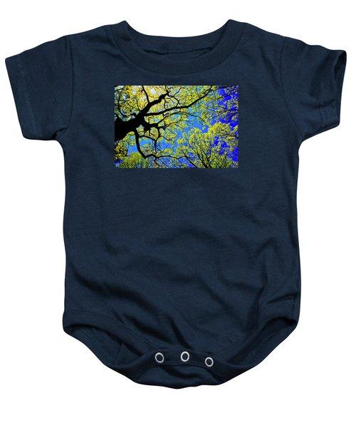 Artsy Tree Canopy Series, Early Spring - # 01 Baby Onesie