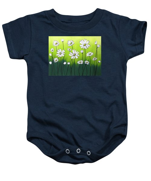 Daisy Crazy Baby Onesie by Teresa Wing