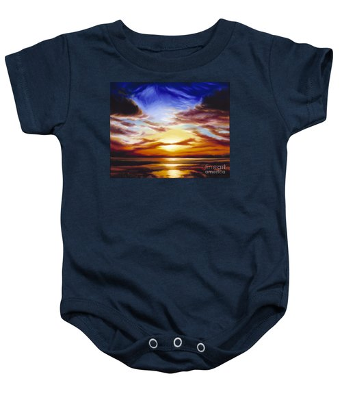 As The Sun Sets Baby Onesie