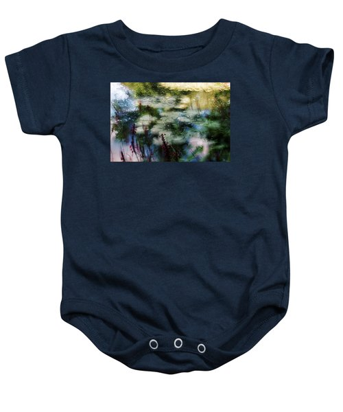 At Claude Monet's Water Garden 2 Baby Onesie