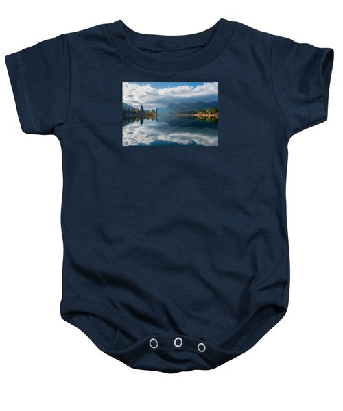 Autumn Along The Pend Oreille River Baby Onesie