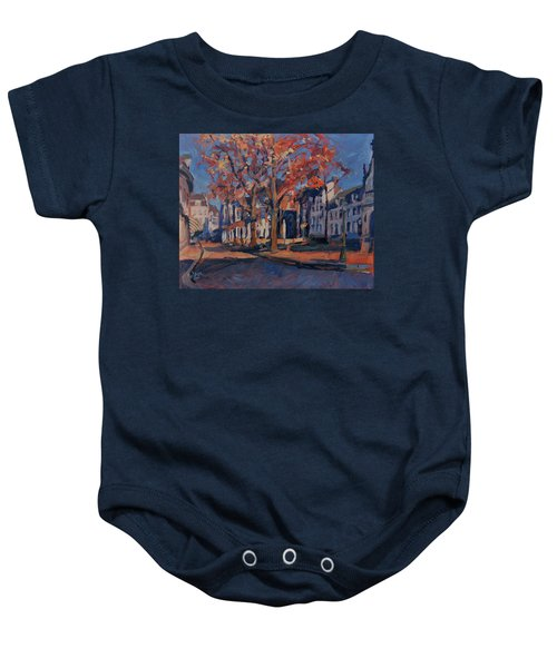 Autumn On The Square Of Our Lady Maastricht Baby Onesie