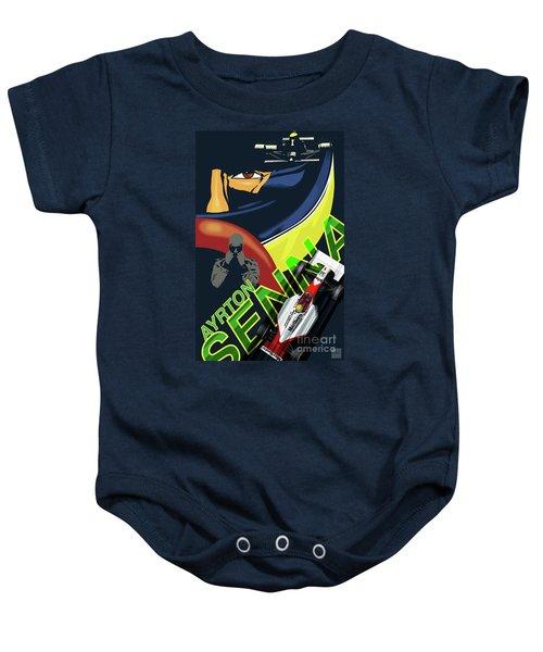Ayrton Senna Baby Onesie