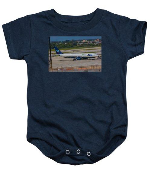 Azul Barzillian Airline Baby Onesie