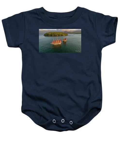 Sailing Thru Life The Downeast Way Baby Onesie