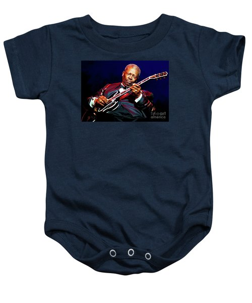 Bb King Baby Onesie by Paul Tagliamonte