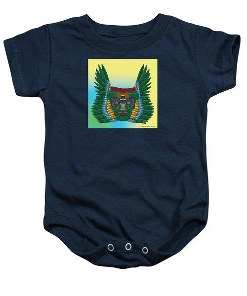 Birdman Mask Baby Onesie