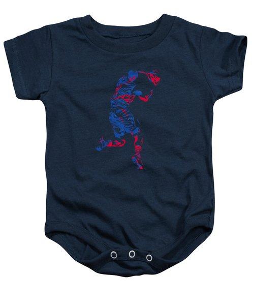 Blake Griffin Clippers Pixel Art T Shirt Baby Onesie