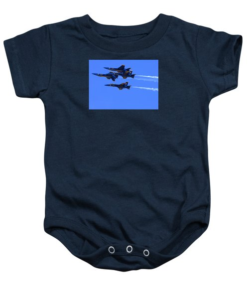 Blue Angels Perform Over San Francisco Bay Baby Onesie