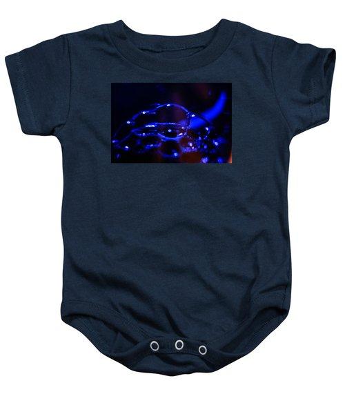 Blue Bubbles Baby Onesie