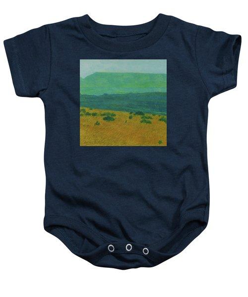 Blue-green Dakota Dream, 1 Baby Onesie