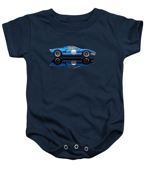 Blue Reflections - Ford Gt40 Baby Onesie